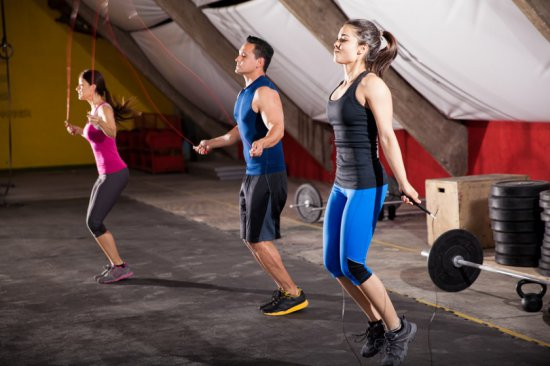 corde à sauté fitness